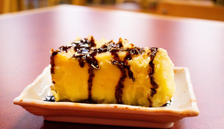 Fried Cheese Cake Tempura